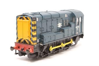 32-102B-PO07 Class 08 Shunter 08748 in BR Blue - Pre-owned - missing one buffer - slightly noisy runner