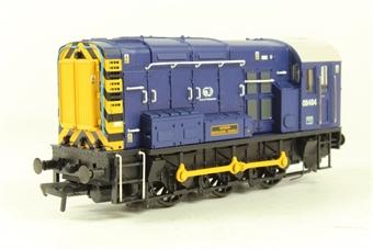 32-102K Class 08 Shunter 08484 in Port of Felixstowe Blue - Bachmann Collectors club ltd edn