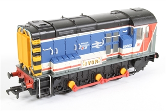 32-102X Class 08 Shunter 08600 'Ivor' in BR Network Southeast Livery - Special Edition of 500 Pieces for Modelzone