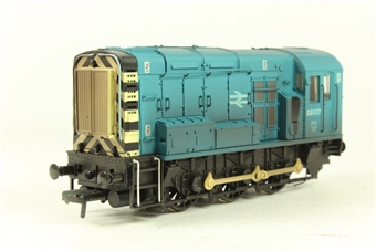 32-102Z Class 08 Shunter 08507 in BR Blue (weathered) - Collectors Club Limited Edition Model 2003
