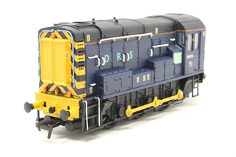 32-103-PO06 Class 08 Shunter 08834 in DRS Blue - Pre-owned - professionally renumbered and reliveried, one side handrail slightly bent