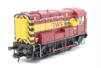 32-103-PO07 Class 08 Shunter 08921 in EWS Maroon - Pre-owned - DCC fitted, Poor runner, imperfect box