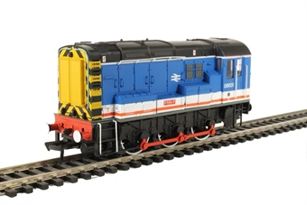 "32-109 Class 08 08631 ""Eagle"" in Network SouthEast livery"
