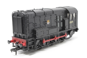 32-110-PO07 Class 08 Shunter 13029 in BR Black with Early Emblem and Hinged Door - Pre-owned -  imperfect box