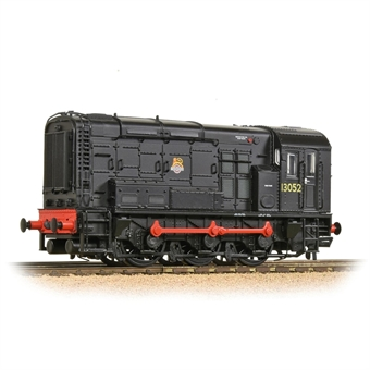 32-114B Class 08 shunter 13052 in BR black with early emblem