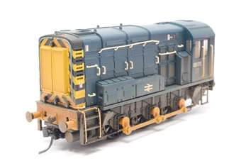 32-115-PO09 Class 08 Shunter 08173 in BR Blue (weathered) - Pre-owned - broken handrail