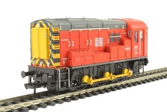 32-119 Class 08 Shunter 08907 in DB Schenker red