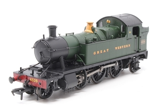 32-131-PO09 Class 45xx 2-6-2 Prairie tank 4539 in Great Western green - Pre-owned - detached buffer- imperfect box