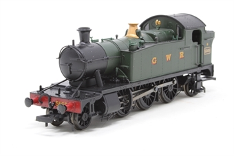 32-135A-PO05 Class 4575 2-6-2 Prairie tank 5565 in GWR green - Pre-owned - Slightly noisy runner, missing coupling hooks