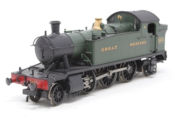 32-136-PO08 Class 4575 2-6-2 Prairie tank 5555 in GWR green - Pre-owned - missing front step and one coupling hook - Imperfect box