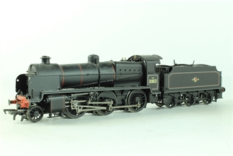 32-152 Class N 2-6-0 31813 in BR black with late crest