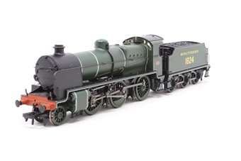 32-153-PO12 Class N 2-6-0 1824 in SR olive green - Pre-owned - missing smoke deflector
