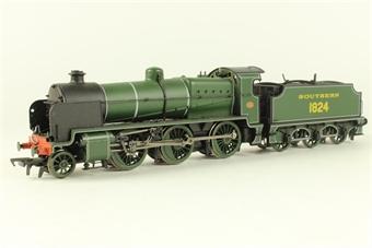 32-153 Class N 2-6-0 1824 in SR olive green