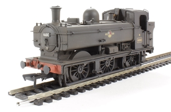32-203A Class 8750 0-6-0 4680 in BR black with late crest - weathered
