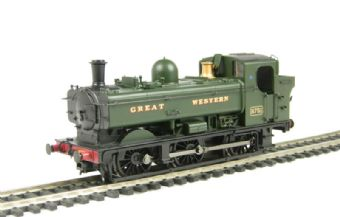 32-206 Class 8750 0-6-0 Pannier tank 8751 in Great Western green livery