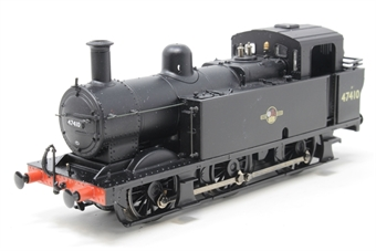 32-225-PO11 Class 3F Fowler Jinty 0-6-0 tank 47410 in BR black with late crest - Pre-owned - Marks on tank