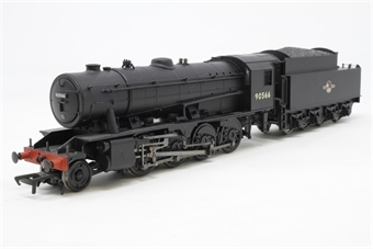32-256-PO06 WD Austerity 2-8-0 90566 in BR black with late crest - Pre-owned - Like new - imperfect box