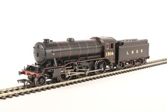 32-279A Class K3 2-6-0 1304 in LNER black