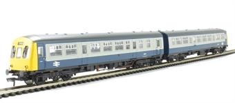 "32-287 Class 101 2 Car DMU in BR blue & grey ""Cambridge/Norwich"""