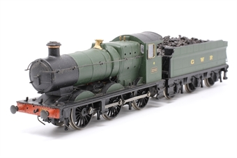 32-300-PO12 Class 2251 0-6-0 Collett goods 3203 in GWR green - Pre-owned - sold as seen, non runner, detailed with coal, replacement box