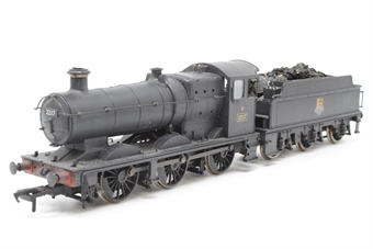 32-305-PO04 Class 2251 Collett Goods 2217 & Churchward tender in BR black with early crest (weathered) - Pre-owned - minor chipped paintwork in cab - detailed with added coal  - imperfect box
