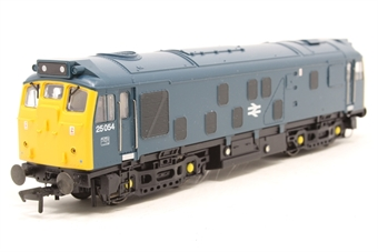 32-326-PO05 Class 25/1 25054 in BR Blue - Pre-owned - DCC fitted, one step ladded loose from bogie