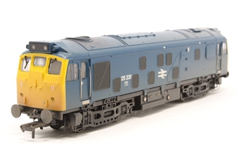 32-329-PO03 Class 25/2 25231 in BR Blue (weathered) - Pre-owned - DCC fitted