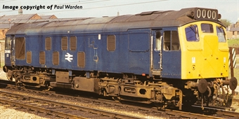 32-340 Class 25/1 25060 in BR blue - weathered