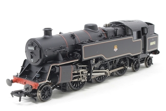 32-359A-PO02 Standard Class 4MT 2-6-4T 80092 in BR black with early emblem - Open box, DCC Sound fitted