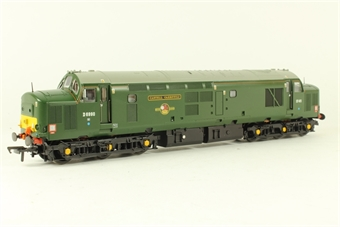 """32-375K Class 37/4 D6990 """"Castell Caerffili/Caerphilly Castle"""" in BR Green - Limited Edition for Bachmann Collector's Club"""