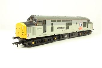 32-375W Class 37/4 37412 'Driver John Elliot' in Transrail Triple Grey Livery - Limited Edition for Geoffrey Allison