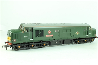 32-375Z Class 37/4 D6607 'Ben Cruchan' in BR Green Livery with Late Crest - Collectors Club Limited Edition Model 2002 of 900 Pieces