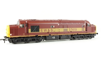 32-375 Class 37/4 37419 in EWS Livery