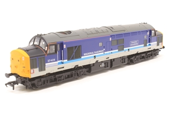 "32-376-PO02 Class 37/4 37429 ""Eisteddfod Genedlaethol"" in Regional Railways Livery - Pre-owned - boogie loose - imperfect box"