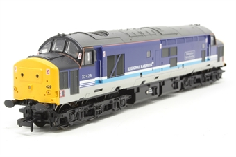 "32-376-PO06 Class 37/4 37429 ""Eisteddfod Genedlaethol"" in Regional Railways Livery - Pre-owned - directional only work in 1 direction"