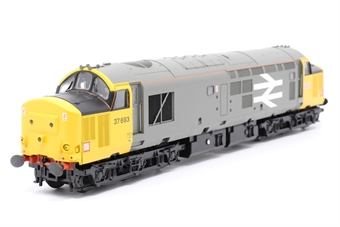 32-376DS-PO02 Class 37/5 37693 in Railfreight Livery (DCC Sound Fitted) - Pre-owned - Like new