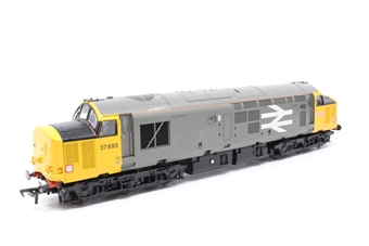 32-376DS-PO03 Class 37/5 37693 in Railfreight Livery (DCC Sound Fitted) - Pre-owned - Misaligned buffer - Lights work on one end only