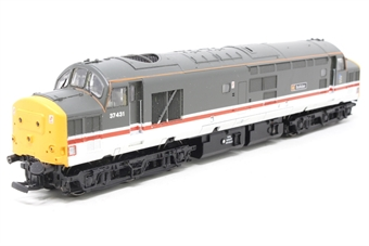 32-378-PO04 Class 37/4 37431 'Bullidae' in Inter City Mainline Livery - Pre-owned - missing coupling and three buffers