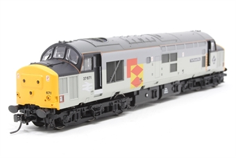 32-380-PO13 Class 37/5 37671 'Tre Pol And Pen' in Railfreight Distribution Livery - Pre-owned - DCC fitted - fitted with Kadee couplkings