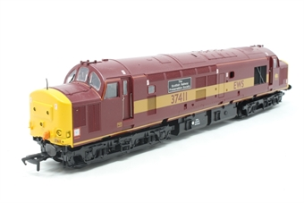32-381-PO08 Class 37/4 37411 'Ty Hafan' in EWS Livery - Pre-owned - DCC fitted - Missing buffer - Nameplate removed