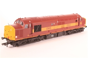 32-381-SD01 Class 37/4 37411 'Ty Hafan' in EWS Livery - Pre-owned - DCC Fitted, minor paint marks on body and some glazing missing