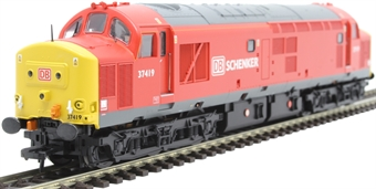 32-381L Class 37/4 37419 in DB Schenker red - Limited Edition for Trains4U
