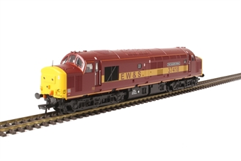 "32-381N Class 37/4 37418 ""East Lancashire Railway"" in EW&S maroon and gold - Limited Edition"