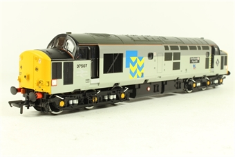 32-381S Class 37/5 37507 'Hartlepool Pipe Mill' in Railfreight Metals Livery - Rail Express Limited Edition