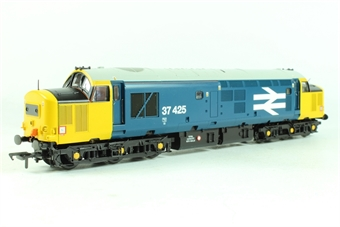 32-381X Class 37/4 37425 in BR Blue Livery with Yellow Ends & Large Logo - Limited Edition for Geoffrey Allison