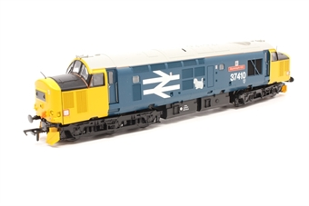 32-382-PO06 Class 37/4 37410 'Aluminium 100' in BR Blue with Large Logo - Pre-owned - DCC fitted