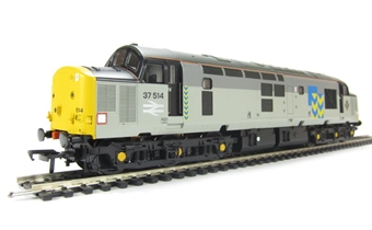 32-386 Class 37/5 37514 in Railfreight Metals Sector Livery with Flush Front