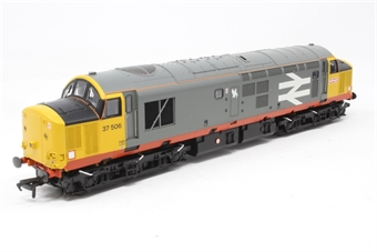 32-387-PO06 Class 37/5 37506 in Railfreight Red Stripe Livery with Flush Front - Pre-owned - DCC fitted