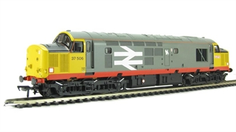 32-387 Class 37/5 37506 in Railfreight Red Stripe Livery with Flush Front