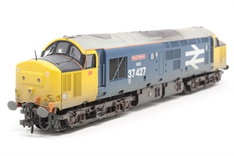 32-388-PO10 Class 37/4 37427 'Bont Y Bermo' in BR Large Logo Blue (weathered) - Pre-owned - DCC Sound-fitted